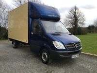 2012 sprinter Luton with tail lift