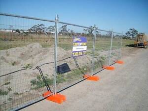 """Temp Fencing """"Smart"""" Panels Complete Set - Panel, Foot & Clamp Punchbowl Canterbury Area Preview"""