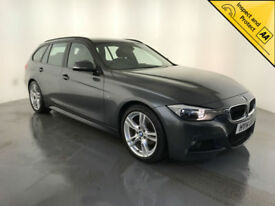 2014 BMW 318D M SPORT DIESEL ESTATE 1 OWNER BMW SERVICE HISTORY FINANCE PX