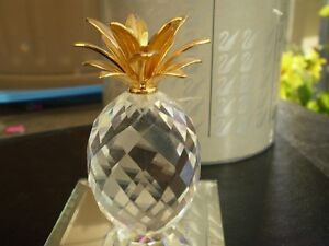 "Swarovski Crystal Figurine - "" Pineapple "" 7507NR Kitchener / Waterloo Kitchener Area image 3"