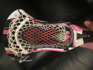 Reebok 9 k lacrosse head for breast cancer