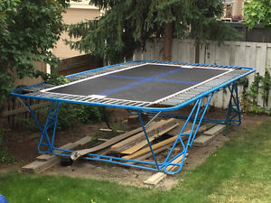 GUC 11'x14' Olympic Trampoline with NEW Bed