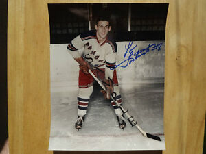 FS: Lou Fontinato (New York Rangers) Autographed 8x10 Photo