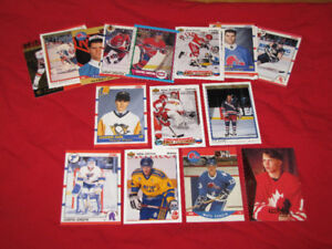 20 different hockey rookie cards, most from 1990s*