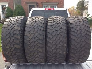 4 m+s tires size 285/65R18 33x11.5