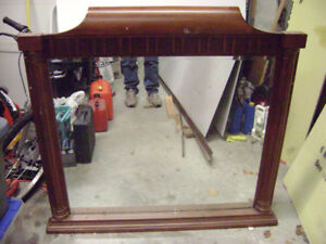 large beveled edge mirror