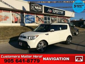"2016 Kia Soul SX  NAV LEATH P/SEAT HS HTD-S/W SMART-KEY 18""AL"