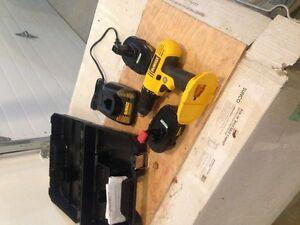 New DeWalt 18 volt drill