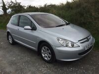 Peugeot 307 hdi, full years mot, 1 owner from new