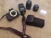 Canon 550D kit with Extra's