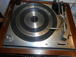 vintage table tournante Lesa HIFI made in italy