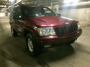 1999 Jeep Grandcherokee Limited 4x4 Leather Sunroof Low Kms!!