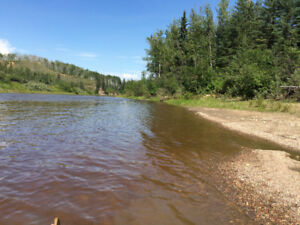 River Property with Cabins for Sale