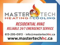 HVAC - FURNACE, ROOFTOP, WATER HEATER, HUMIDIFIER, TANKLESS Gas