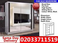 Chicago Sliding Mirror WardrobeCALL NOW Chester