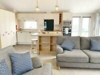 3 bedroom luxury lodge with decking and free site fees