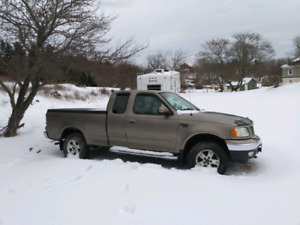 Two 2004 ford f150s