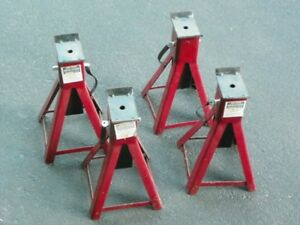 Four 2-Ton Jack Stands