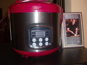 Robert Irvine 10 cup Slow Cooker - Perfect Christmas Gift!