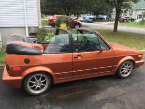Volks cabriolet 1991 refait à neuf