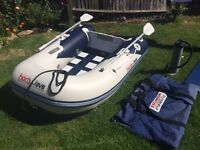 Honwave inflatable boat dinghy rib 2 metre