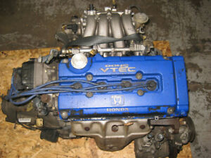 MOTEUR INTEGRA GSR 1.8L B18C VTEC ENGINE 5SPEED LSD TRANS JDM