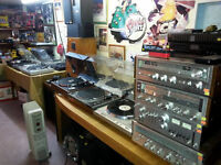 21 Turntables Thorens more -Open Saturday Aug 29th  @ 9am