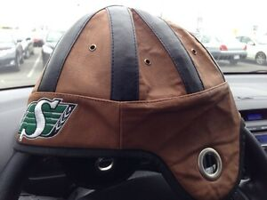 Faux leather cfl novelty helmet cap Gatineau Ottawa / Gatineau Area image 3