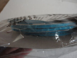 Brand new pack of 4 blue paper lanterns hanging decor London Ontario image 5