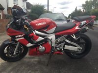 YAMAHA R6 LOW MILEAGE VERY CLEAN