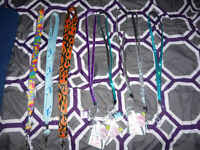 Lot of lanyards, most new and some with tags