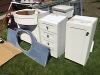 Free bathroom vanity and top