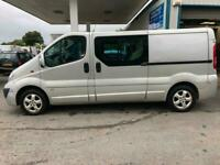 Vauxhall Vivaro 2.0 115ps 2013 Sportive 2900 LWB Factory Fitted Crew Cab No Vat