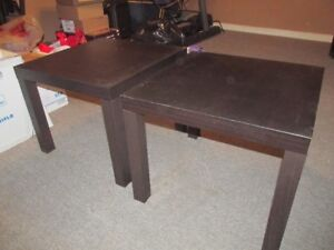 Ikea end tables for sale