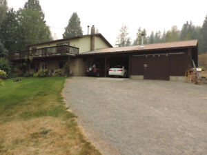 Home on Acreage in Creston BC