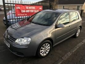2008 (58) VW GOLF MATCH TDI 105, 1 YEAR MOT, FULL SERVICE HISTORY, NOT A3 ASTRA FOCUS MEGANE ACCORD