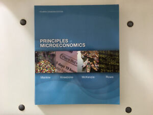 Principles of Microeconomics By M. & K. & M. & R. (4th Ca Ed)