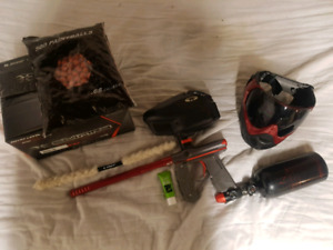 Paintball gear kit