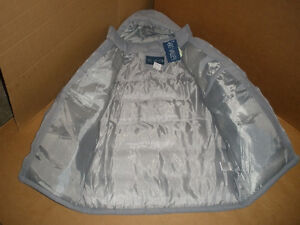 NEW!!!  BIG VALLEY Light Gray, Hooded Winter Coat, Size S London Ontario image 4