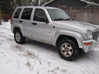 2003 Jeep Liberty LIMITED EDITION SUV, Crossover