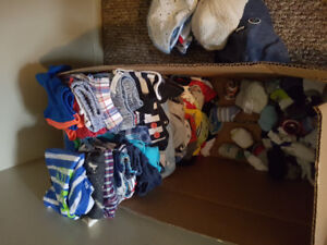 NB to 12 month boy clothes