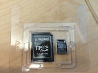 NEW Kingston 32 gig micro SD