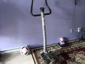 New stepping machine