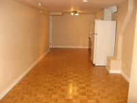 Large 1 bedroom basement apartment for rent in Markham