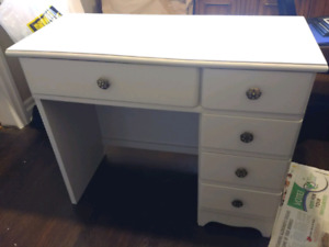 Refinished Solid Wood Desk
