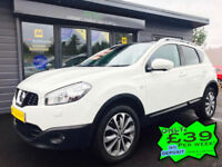 2012 Nissan Qashqai 1.6dCi 2WD Tekna *Nav - Pan Roof - 360 Cam - Heated Leather*
