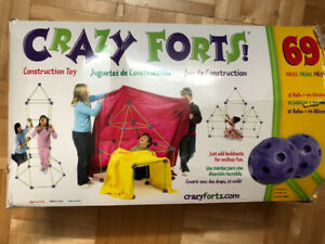 Jeu de construction grandeur nature « Crazy Fort »