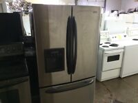 IDEAL ELECTRO REFRIGERATEUR KENMORE STAINLESS 3 PORTES
