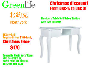 Christmas Special! Manicure and pedicure table/chair