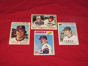 100-plus nrmint/mint 1970s O-PeeChee baseball cards & 100+ 1980s